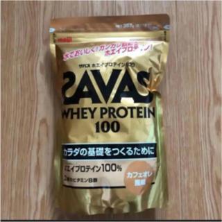 ザバス(SAVAS)のザバス ホエイプロテイン カフェオレ風味 17食分 357g 1袋(プロテイン)