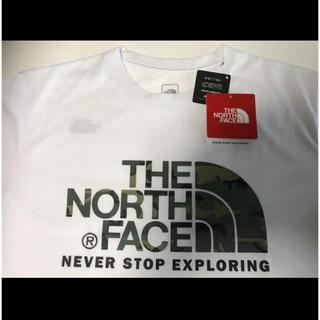 THE NORTH FACE - 【未開封】ノースフェイス Tシャツ 新品タグ付 白色 Mサイズ カモフラージュ柄