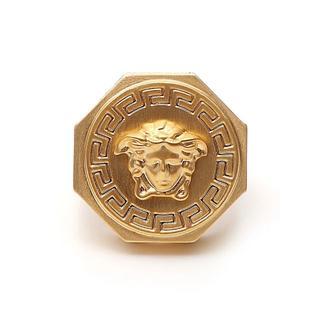 ヴェルサーチ(VERSACE)の新品☆Versace ヴェルサーチ ゴールド リング(リング(指輪))