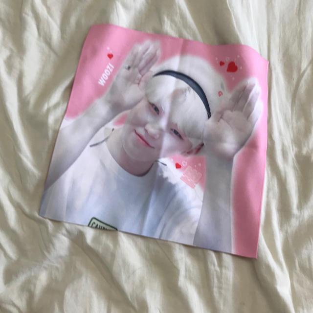 SEVENTEEN(セブンティーン)のウジ スローガン エンタメ/ホビーのタレントグッズ(アイドルグッズ)の商品写真