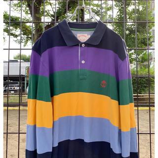 ブルックスブラザース(Brooks Brothers)のBrooks brothers ラガーシャツ カラフル(ポロシャツ)