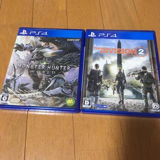 PlayStation4 - モンスターハンターワールド ディビジョン2 セット