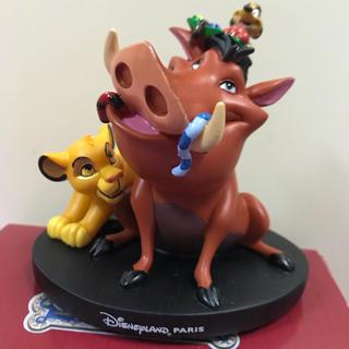 Disney - 【パリディズニー(公式)✨】ライオンキング・フィギュア