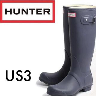 ハンター(HUNTER)のhunter  レインブーツ US3(レインブーツ/長靴)