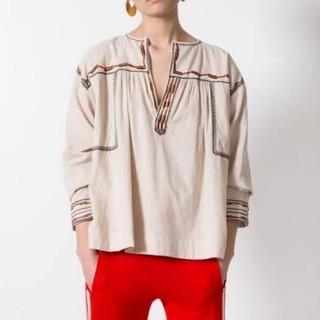 イザベルマラン(Isabel Marant)のイザベルマラン エトワール 刺繍 シャツ(シャツ/ブラウス(長袖/七分))