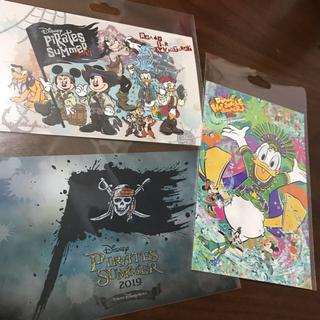 Disney - ディズニーランド ディズニーシー パイレーツサマー ポストカード