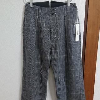 ヨウジヤマモト(Yohji Yamamoto)の新品 sulvam 18aw ハイウエスト スラックス パンツ グレンチェック(スラックス)