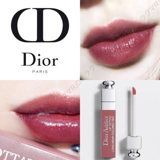 Dior - 【新品箱なし】遂に廃盤 リップティント 491 ローズウッド ブルベ向きブラウン
