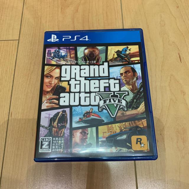 PlayStation4(プレイステーション4)のgta5 グランドセフトオート5(特典コード未使用) エンタメ/ホビーのゲームソフト/ゲーム機本体(家庭用ゲームソフト)の商品写真