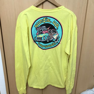 ビームス(BEAMS)のUSA購入 Surf's up car wash ロングスリーブ  Gildan(Tシャツ/カットソー(七分/長袖))
