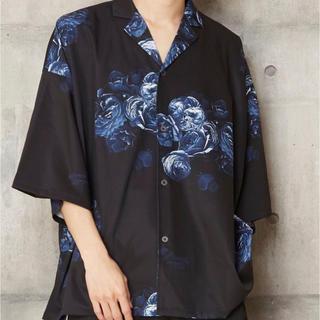 ラッドミュージシャン(LAD MUSICIAN)のオーバーサイズ半袖花柄シャツ YouTuberげんじ着用 最終値下げ(シャツ)