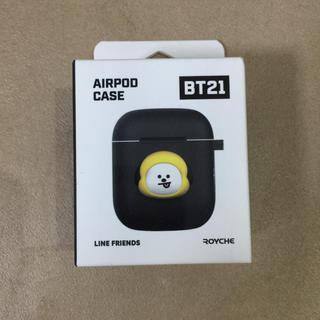 防弾少年団(BTS) - BT21 CHIMMY AIRPOD CASE (黒) エアポートケース