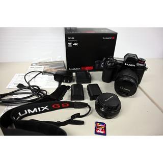 Panasonic - パナソニックLumix Dc-G9+レンズ2本+予備バッテリー+SDカード