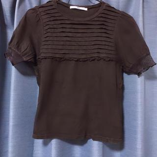 スライ(SLY)の黒Tシャツ(Tシャツ(半袖/袖なし))