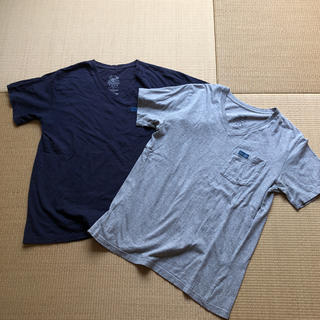 HOLLYWOOD RANCH MARKET - blue blue × fruit of the room Tシャツ セット