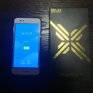 ANDROID - BLU GLAND X LTE 格安スマホ Android 中古 simフリー