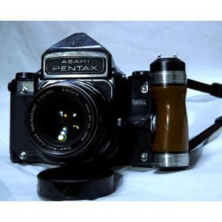 ペンタックス(PENTAX)のペンタックス 6×7 105mm2.8 300mm4 グリップセット!(フィルムカメラ)