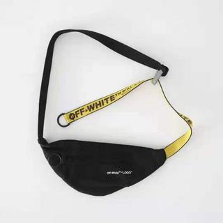 OFF-WHITE - 人気商品:オフホワイト ボディーバッグ 黒色