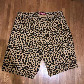 Supreme - supreme cheetah denim shorts