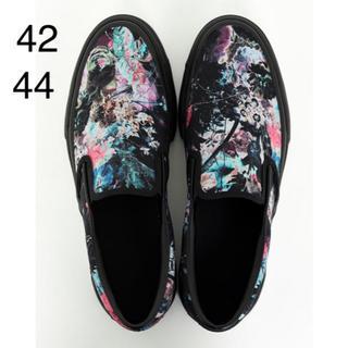 LAD MUSICIAN - CANVAS SLIP-ON FLOWER 44 新品