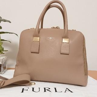 Furla - 【美品】フルラ ツイッギー 本革 2wayバッグ ボストン