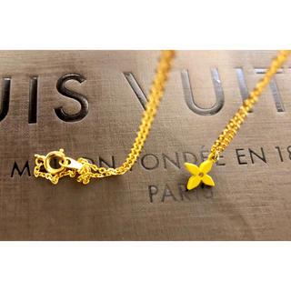 LOUIS VUITTON - 超美品 ルイヴィトン タンクトップチャーム 正規品 黄色 フラワークロス