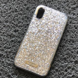 kate spade new york - 箱なし iPhoneXR シルバー キラキラ ケイトスペード グリッター