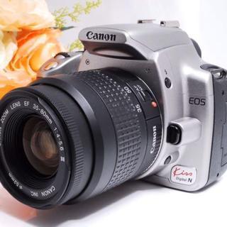 Canon - 【大人気!】Canon EOS kiss N 一眼初心者に最適 シルバー