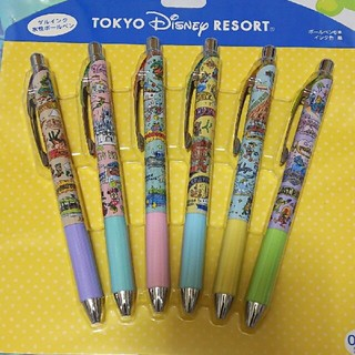 Disney - ディズニー ファンマップ ボールペン 6本セット