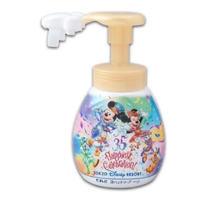 Disney(ディズニー)の【新品未使用】ハンドソープ ディズニー 35周年 エンタメ/ホビーのおもちゃ/ぬいぐるみ(キャラクターグッズ)の商品写真