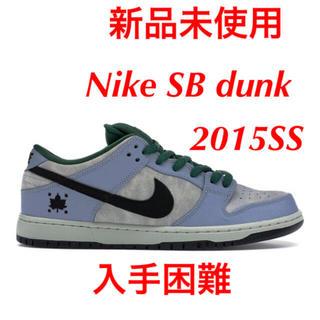 NIKE - NIKE SB DUNK maple leaf ナイキ ダンク スケートボード