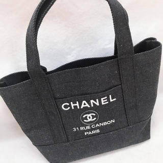 CHANEL - CHANEL デニム トートバッグ ノベルティ
