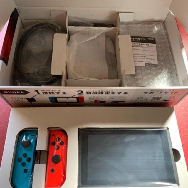 Nintendo Switch(ニンテンドースイッチ)のnatsuminnie様専用 ニンテンドースイッチ 本体 エンタメ/ホビーのゲームソフト/ゲーム機本体(家庭用ゲーム機本体)の商品写真