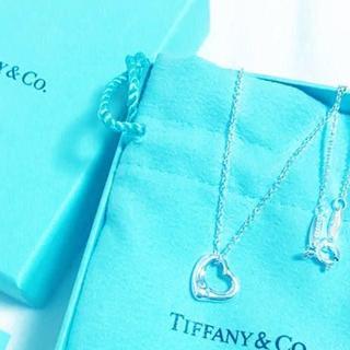 Tiffany & Co. - ☆新品☆未使用☆ティファニー オープンハートネックレス ミニ