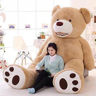 LOVESOUND ぬいぐるみ 特大 テディベア クマ抱き枕 200cm