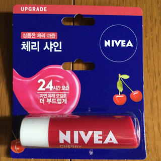 ニベア(ニベア)の韓国限定 ニベア リップ チェリー NIVEA Lip CHERRY(リップケア/リップクリーム)