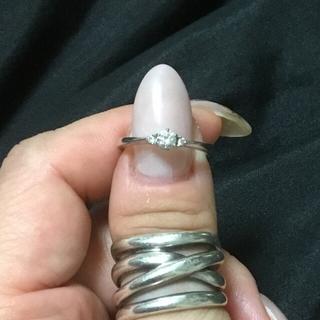 ヨンドシー(4℃)の4℃ ブライダル ダイアモンドリング(リング(指輪))