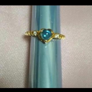 コムサデモード(COMME CA DU MODE)のK18リング 18金リング指輪  宝石(リング(指輪))