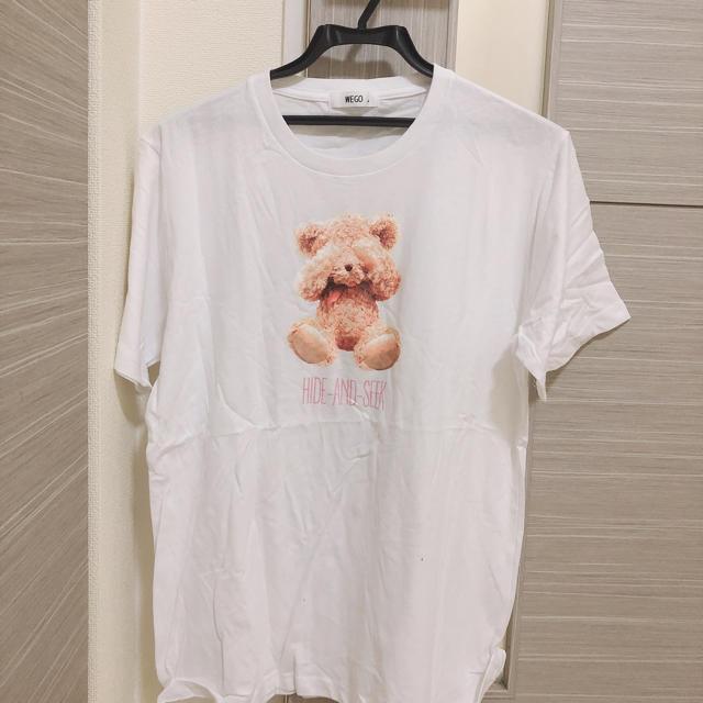WEGO(ウィゴー)のWEGO クマ  レディースのトップス(Tシャツ(半袖/袖なし))の商品写真
