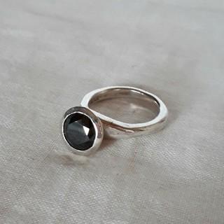 イーエム(e.m.)のe.m.(イーエム)ブラックジルコニアリング(リング(指輪))