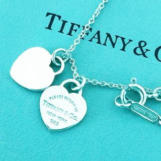 Tiffany & Co. - ☆新品☆未使用☆ティファニー リターン トゥ ダブル ハートタグ ペンダント