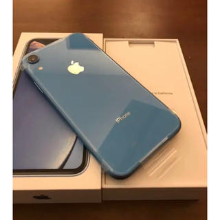 iPhone - 新品 未使用 iPhone XR Blue 64 GB SIMフリー