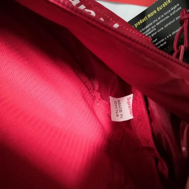 Supreme(シュプリーム)の19ss supreme waist bag red ウェストバッグ メンズのバッグ(ウエストポーチ)の商品写真