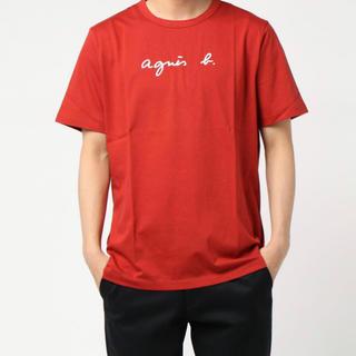 agnes b. - 新品未使用 アニエスベー 赤 ロゴTシャツ