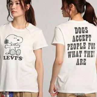 スヌーピー(SNOOPY)のリーバイス×ピーナッツ☆スヌーピーTシャツ(^ー^)(Tシャツ(半袖/袖なし))