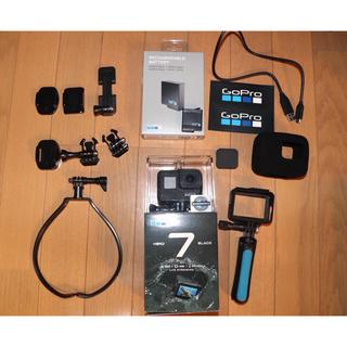 GoPro - GoPro ゴープロ HERO7 BLACK  付属品多数あり 詳細は説明欄に