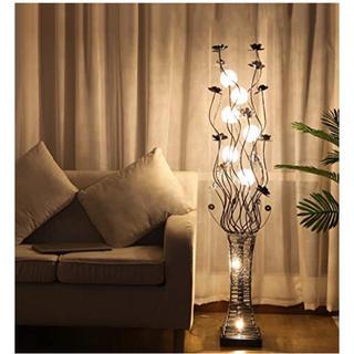 フロアランプ 間接照明 花ランプ フロアスタンド フロアライト リビング
