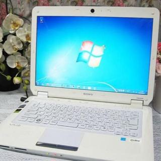 SONY - ホワイト⭐️SONY-CS51B❤SSD交換可✨最新Windows10搭載✴