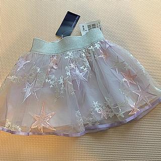 ANNA SUI mini - 新品タグ付き❣️ ANNA SUI mini 星柄チュールスカート
