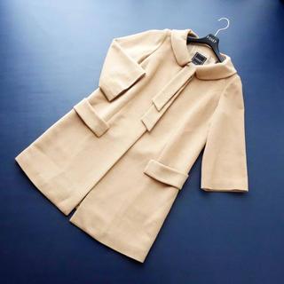 フォクシー(FOXEY)の17万■FOXEY■ 40 ベビーキャメル ロール襟 コート フォクシー(ロングコート)